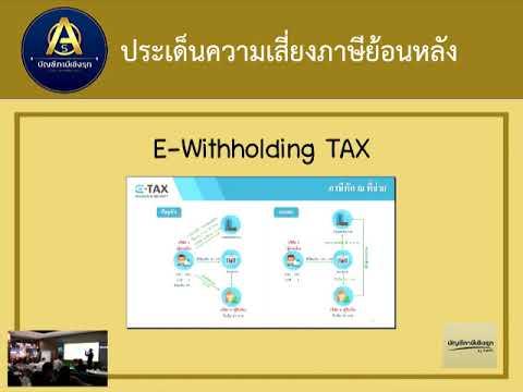 ประเด็นความเสี่ยงภาษีย้อนหลัง ขายของออนไลน์ #คนละครึ่ง EP24 : taxtube