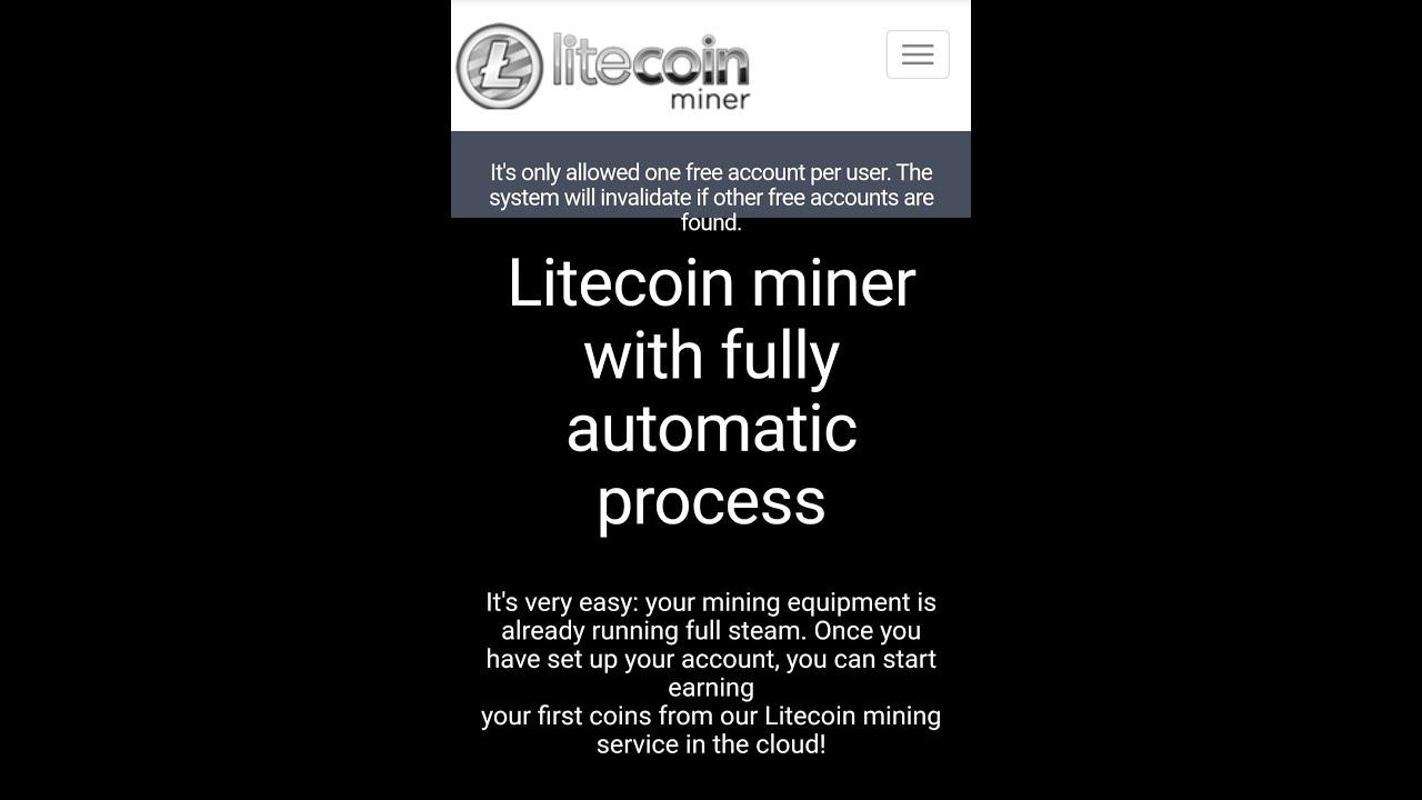 หาเงินฟรี Online ง่ายๆ ไม่ต้องลงทุนกับ Litecoin