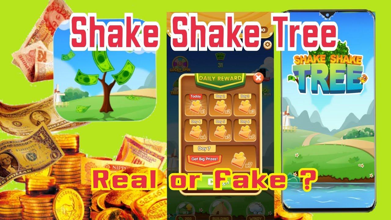 แอพหาเงินออนไลน์ Shake Shake Tree  Real or Fake?